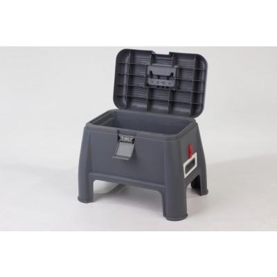 Well Ware เก้าอี้ เก็บของ STEP BOX รุ่น AG626 (Grey)